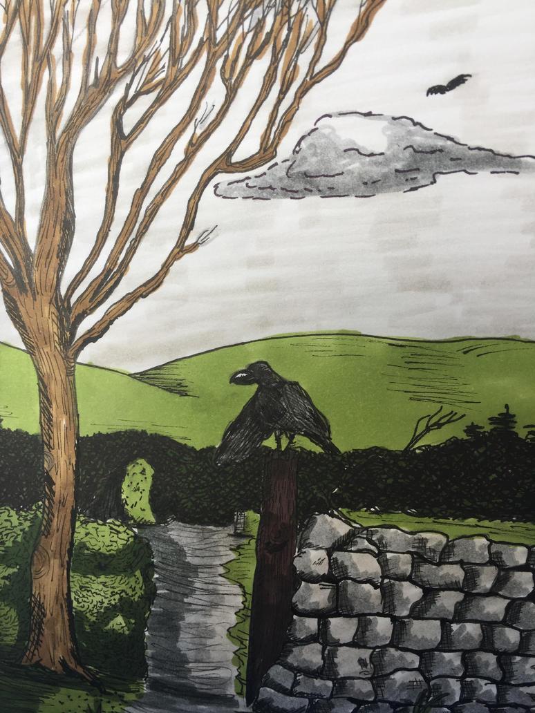 Raven Post by GentlestGiant