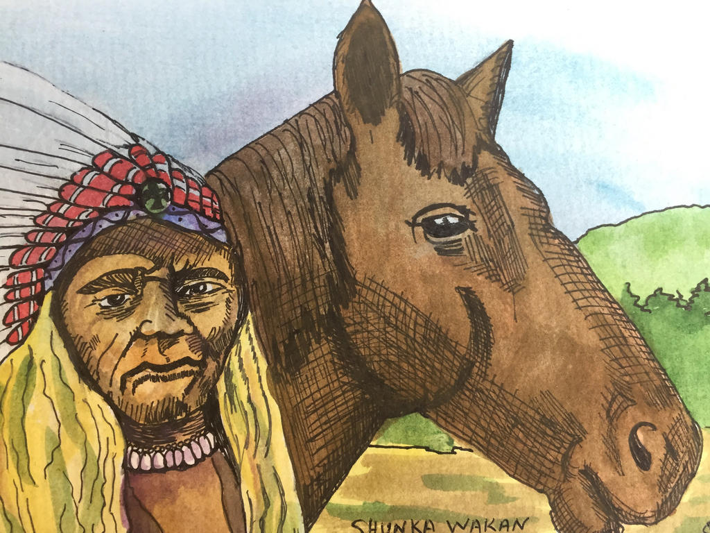 Crazy Horse  by GentlestGiant