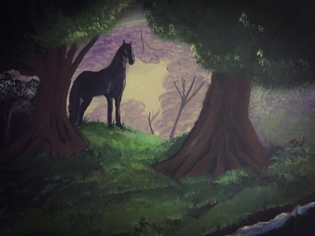 #1220-17 cavalier horse  by GentlestGiant