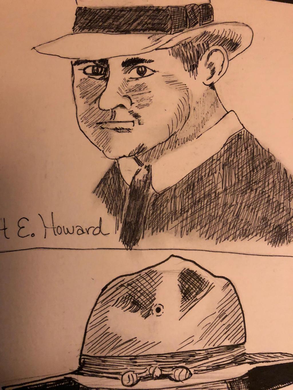 Robert E Howard by GentlestGiant