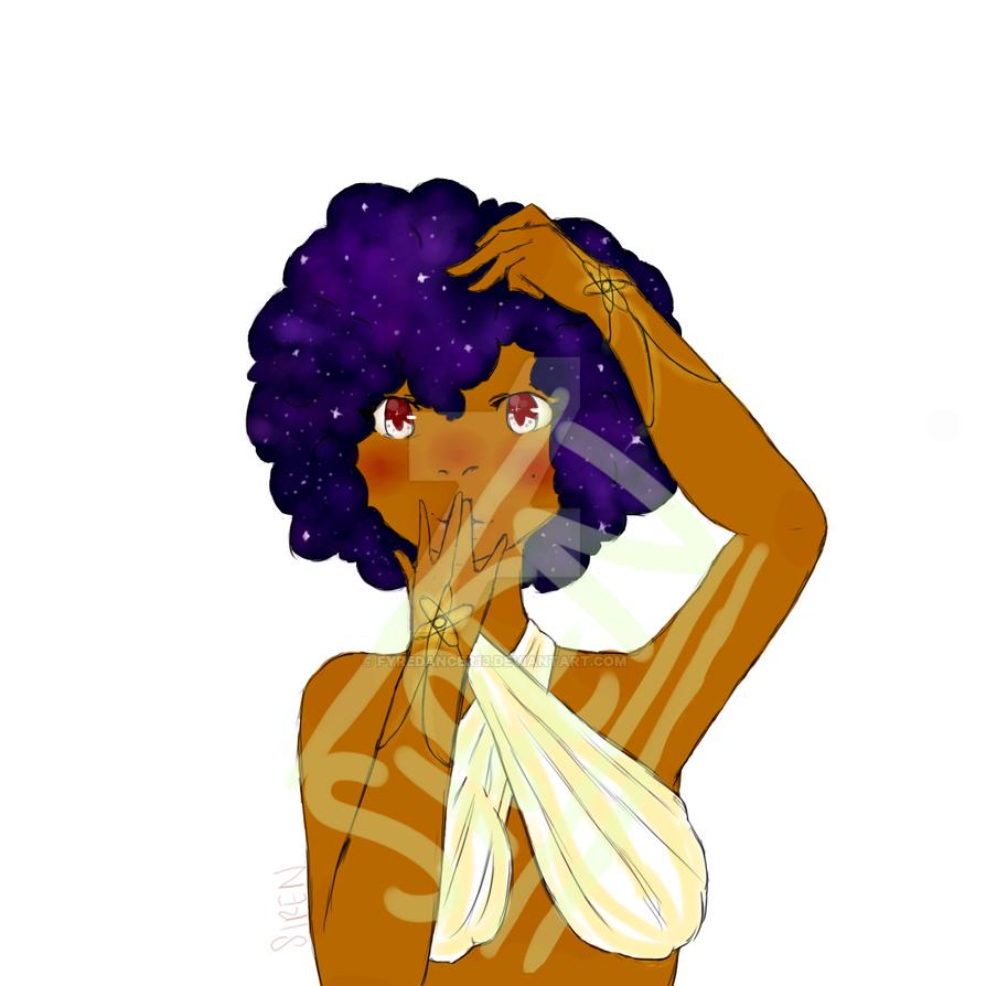 Galaxy Goddess by fyredancer13
