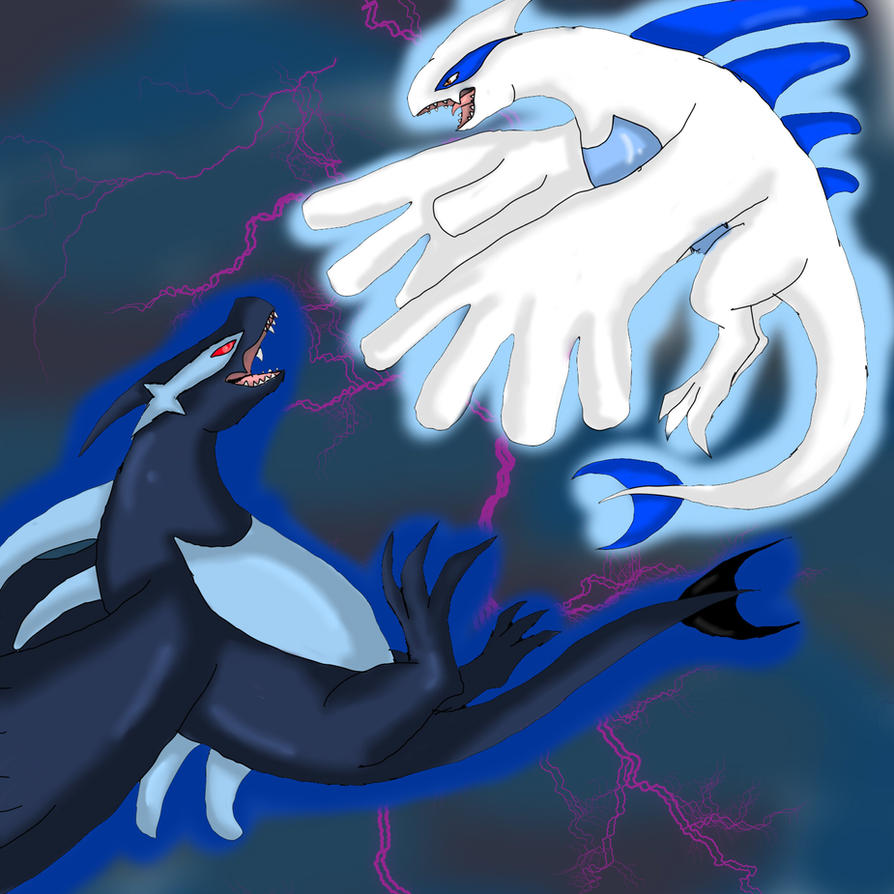 Lugia Vs Shadow Lugia The Movie lugia vs shadow lugia