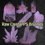 Raw Crystal Brushes