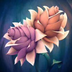 Iridescent Flowers