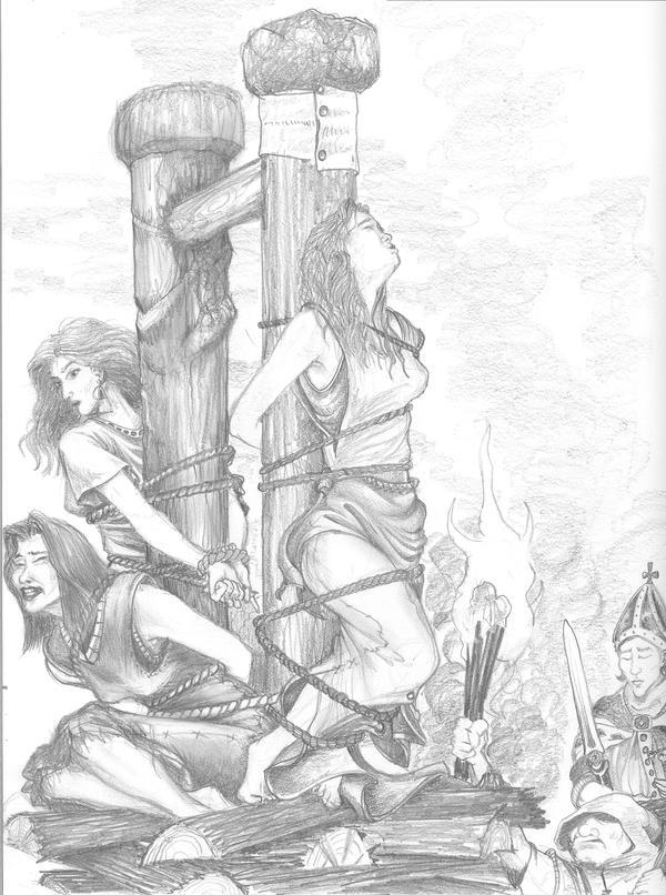 witchhunt by VonEyEzine