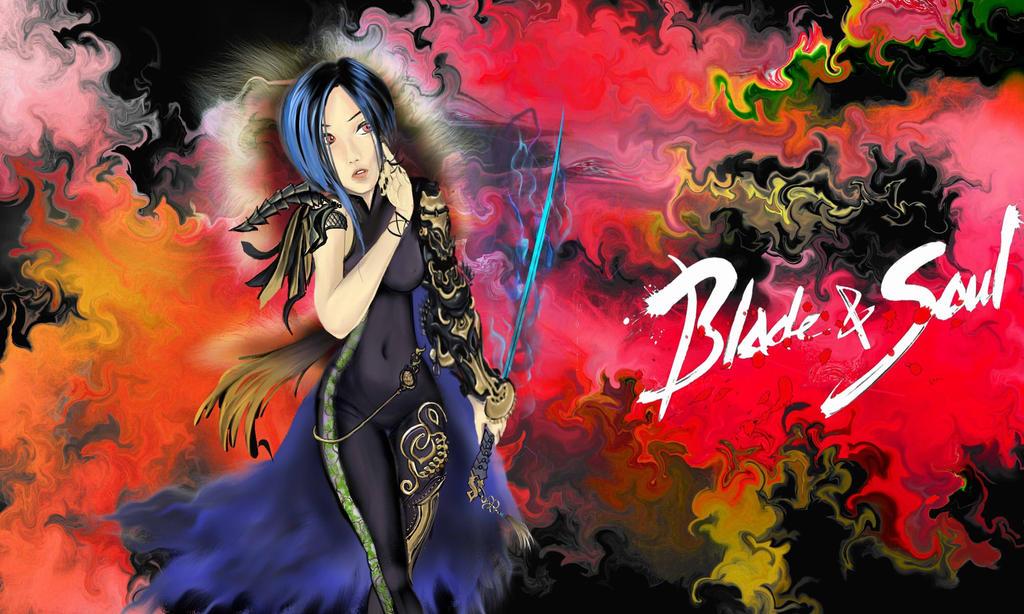 Dark Nebula Blade And Soul[retouch From Jpg] by VonEyEzine