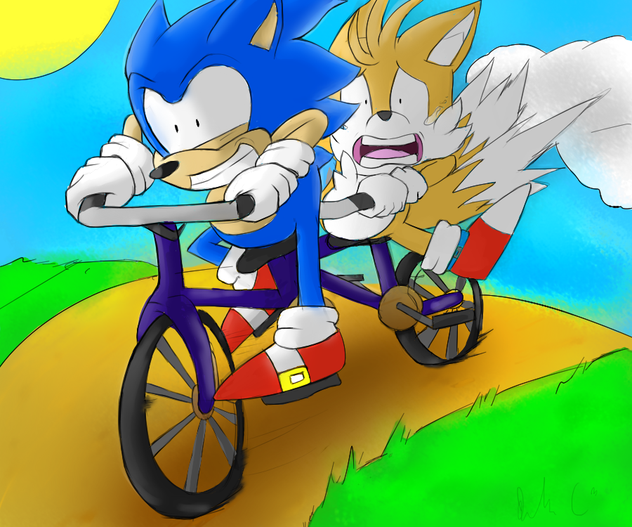 Gotta go fast? by Starzway