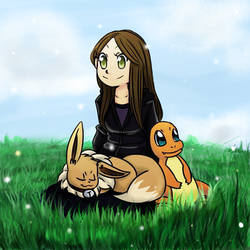 .:Collab:. A Lovely Day With Pokemon by Starzway