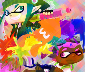 Splatoon Contest Entry by Starzway