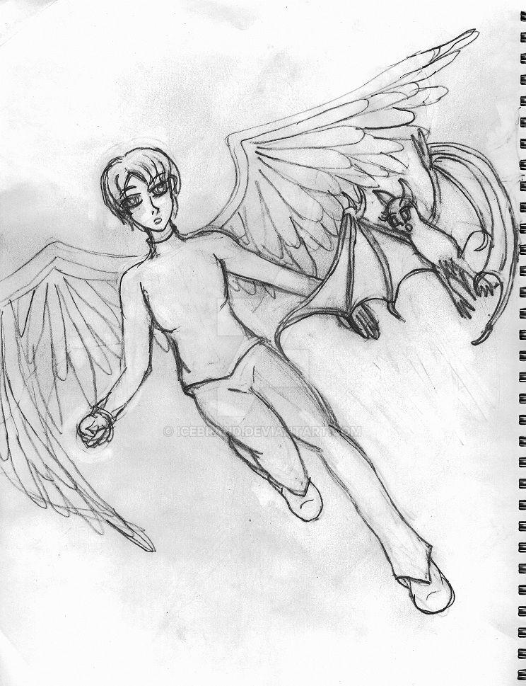 Angel-Bat: First Meeting by icebrand