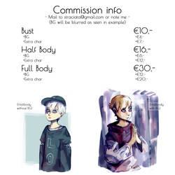 Commission info 2017