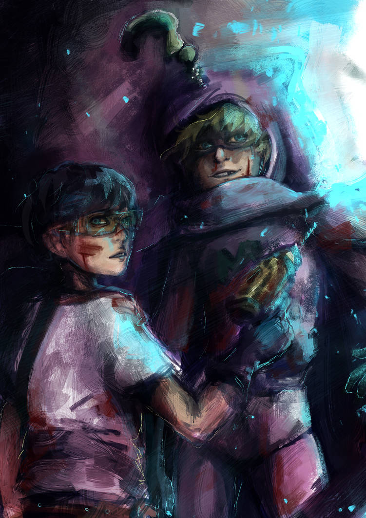 Toolshed and Mysterion by Kimmynn