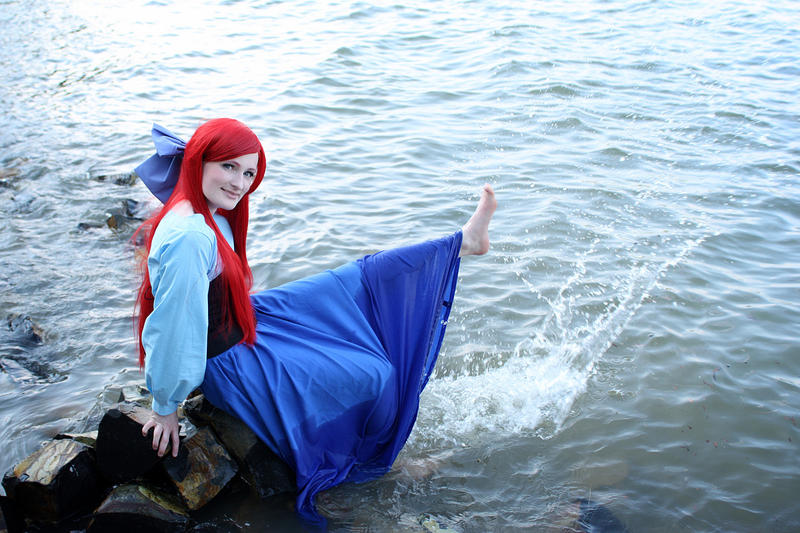 Little Mermaid - Water Fun by aco-rea