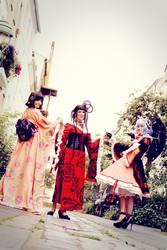 xxxholic - Trio Fatale by aco-rea