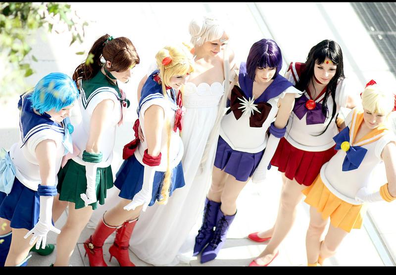 Sailor Moon - Bonds Of Friendship by aco-rea