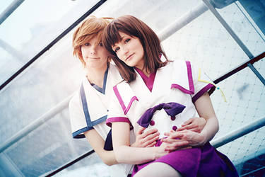 Shinsekai Yori - Friends And Lovers by aco-rea