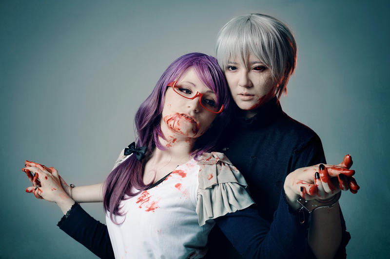 Tokyo Ghoul - Till Death Do Us Part by aco-rea