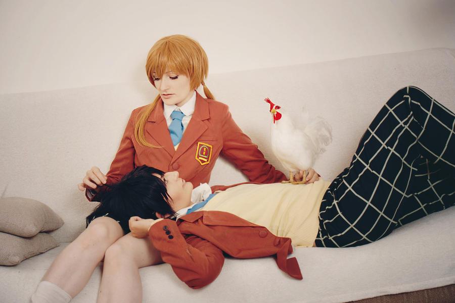 Tonari no Kaibutsu-kun - Stay Like This by aco-rea