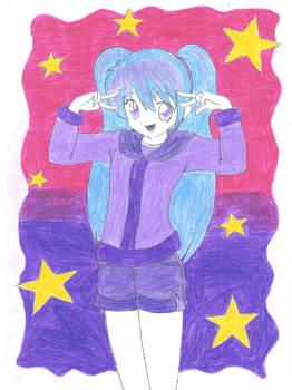 Miku Hatsune...Snow girl