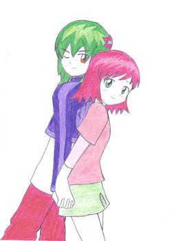 Hikaru and Misora