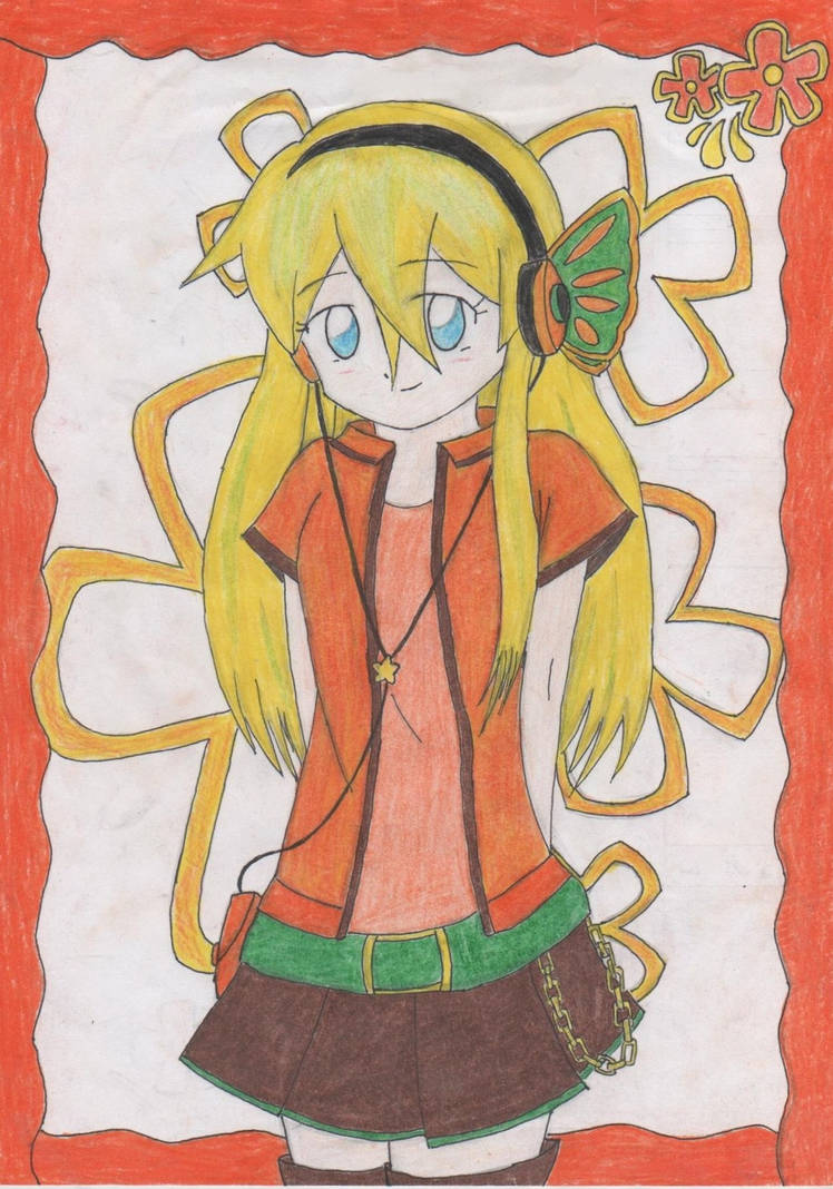 Vocaloid Lily - Dazzling girl