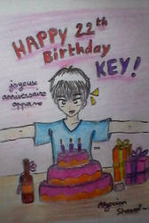 Happy birthday Key!