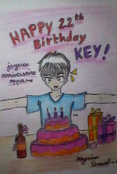 Happy birthday Key!