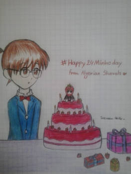 Happy birthday Minho!