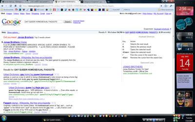 Google hates Jonas Brothers