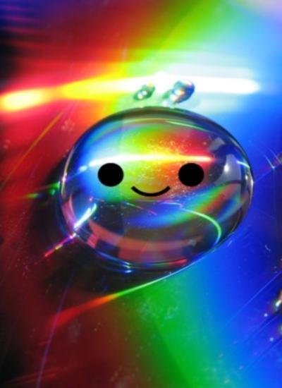 happy raindrop by pinchofsunshine on deviantart