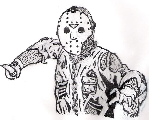 coloring pages of jason - photo#36