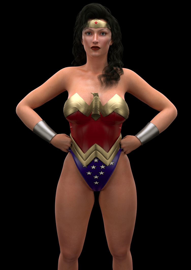 Another Wonder Woman by l-face on DeviantArt