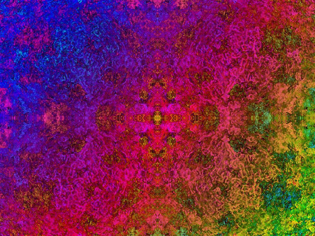 Rainbow print 3 by Geekdude