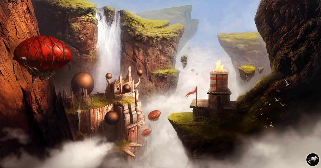 Zeppelin Gorge by Drinke94