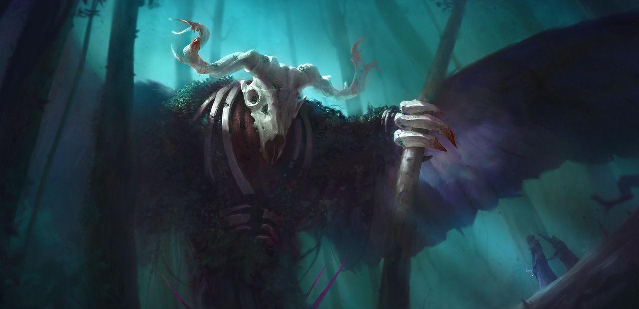 Spirit of the Dark Forrest by Drinke94
