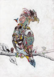 Bird by Jamdeski