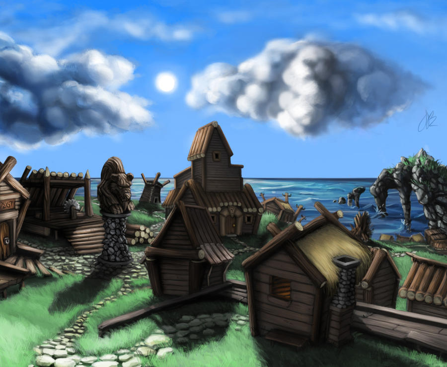 Village by Jamdeski