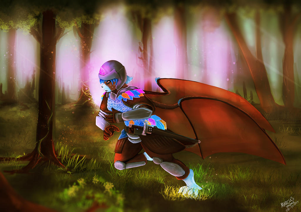 Crystal armor, the third. by Gamal-the-rookie