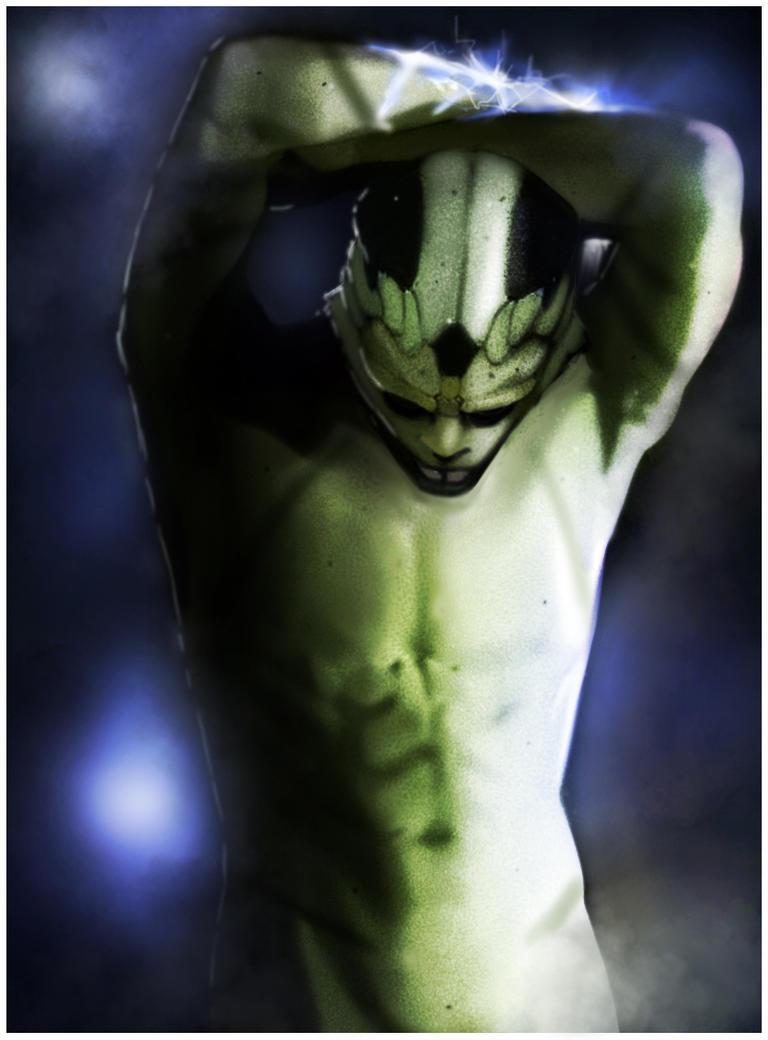 Naked Drell by Odrobinka