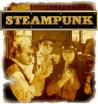 Steampunk gold effect