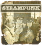 Steampunk silver effect
