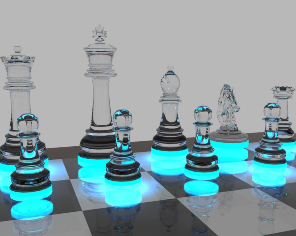 White Glass Chess By Rajziel On Deviantart