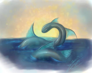 Dragon des mer by Xx-tatooz-xX