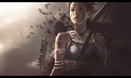 Tomb Raider Signature by ShapeshifterFX