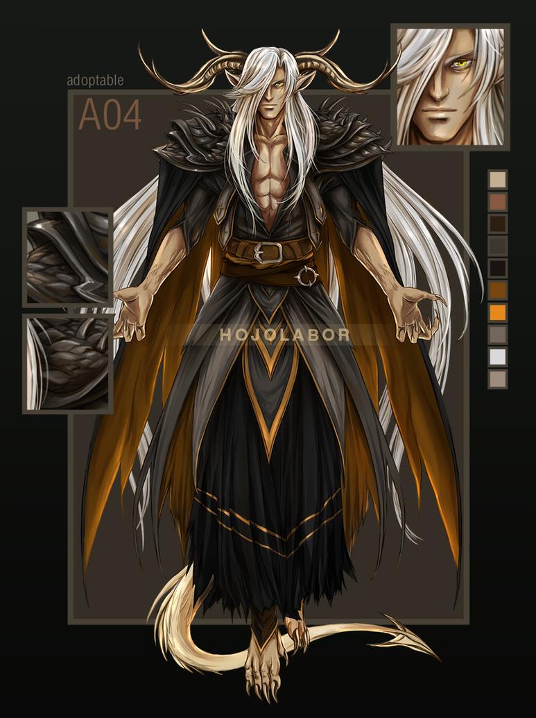 [CLOSE] Demon male #4 (Set price) by hojolabor