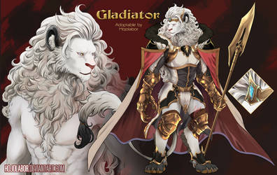 [ CLOSED ] White Lion Gladiator - Auction