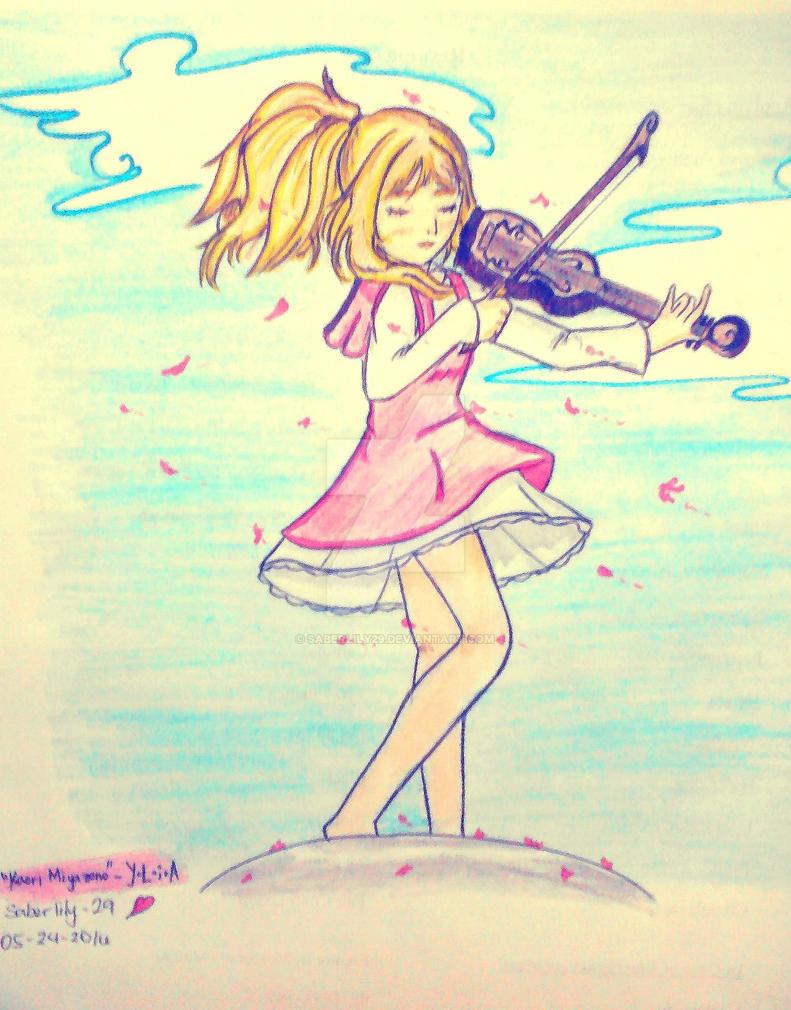 I am a Musician (Y.L.i.A - Kaori Miyazono) by saberlily29
