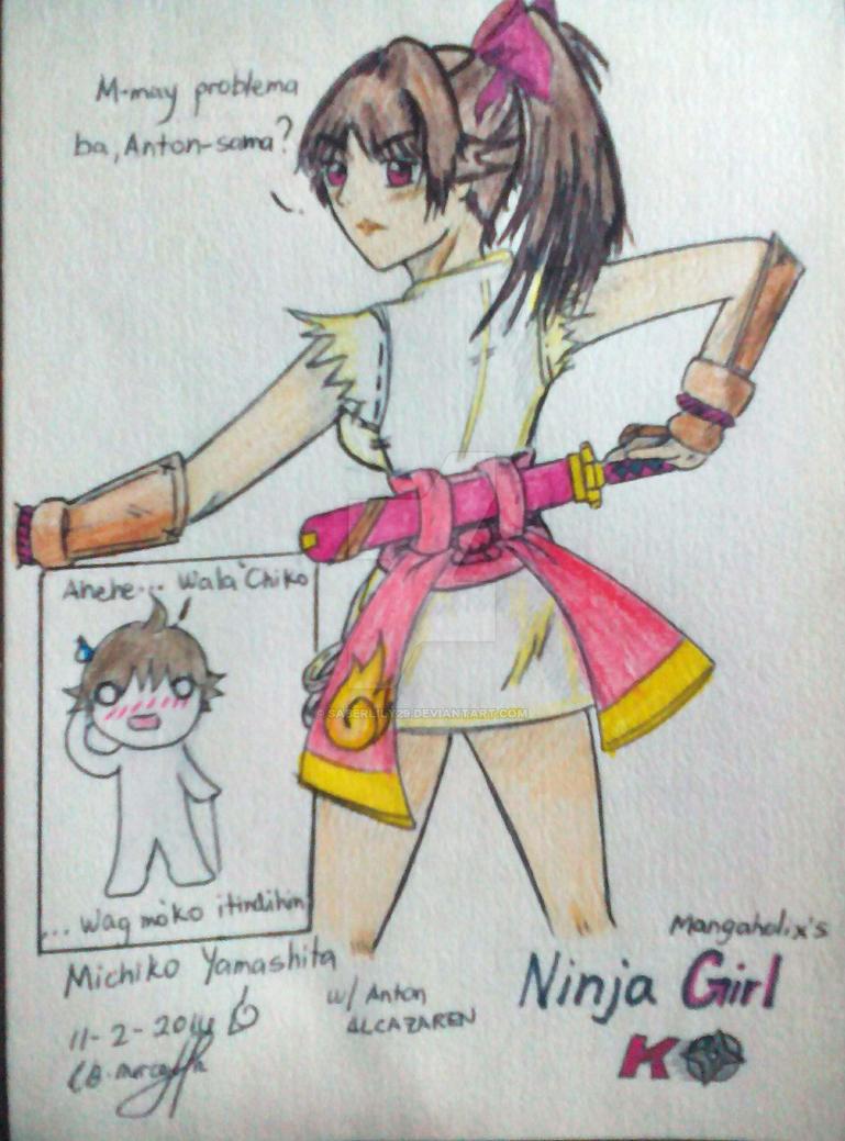 NGK- Michiko Yamashita 2 by saberlily29