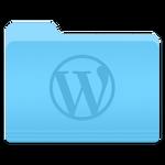 Wordpress Yosemite Folder