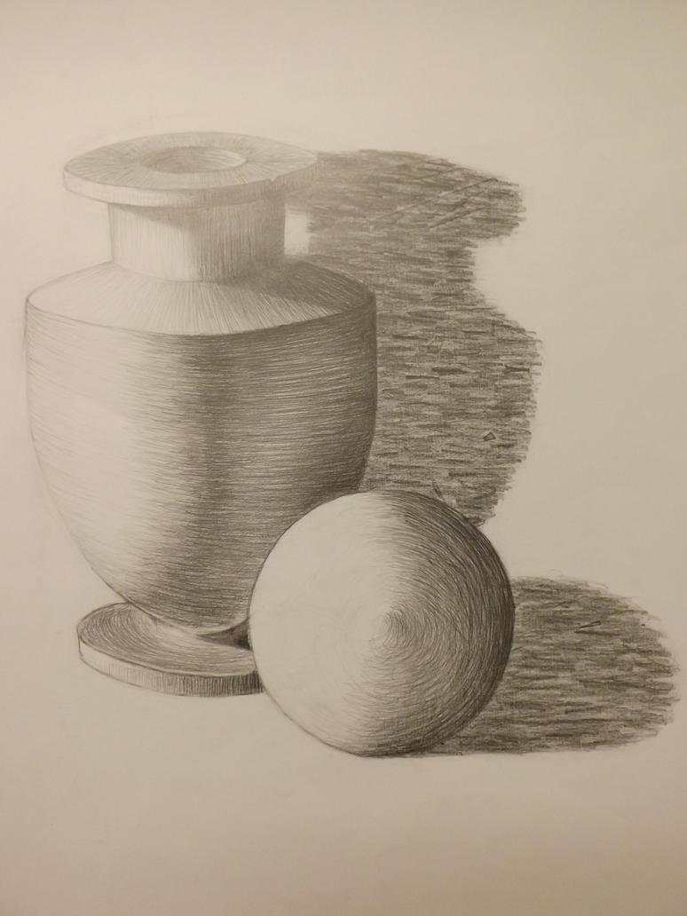 Still Life Drawing  - Still Life Drawing By Tamar Qylpw